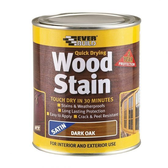 Dažai EVERBUILD QUICK DRYING WOODSTAIN