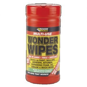 Servetėlės EVERBUILD WONDER WIPES