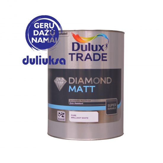 Dažai Dulux Trade Diamond Matt